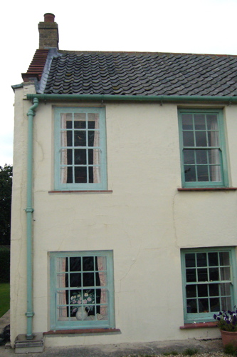 Trompe l'oeil exterior windows - Norfolk