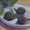 Figs with Blue Shadows